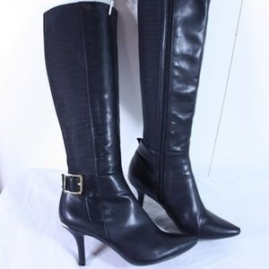 Calvin Klein Julietta Leather Boots